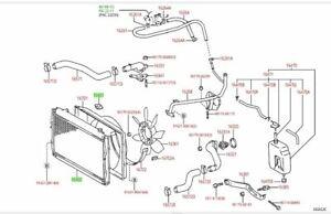 Toyota Tacoma Manual Transmission Radiator & Cap V6 3.4L