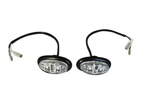 Oval Flush Mount LED Indicators Markers For Project