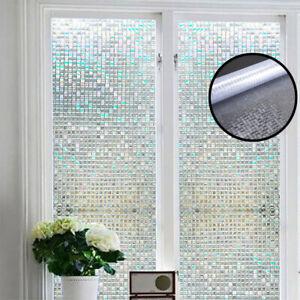 details about 100x45cm self adhesive glass mosaic sticker mini square mirror tiles sheet diy