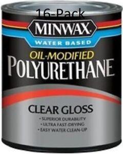 Minwax Water Based Polyurethane