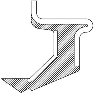 Wheel Seal fits 1983-1990 Ford Ranger Bronco II NATIONAL