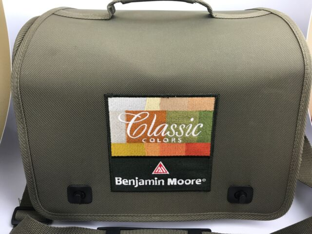 Benjamin Moore Classic Colors Paint Sample Carry Case Interior Decorator Green For Sale Online
