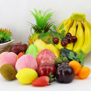 fruit decor for kitchen remodel ideas artificial home lifelike beautiful decorative eps fake image is loading
