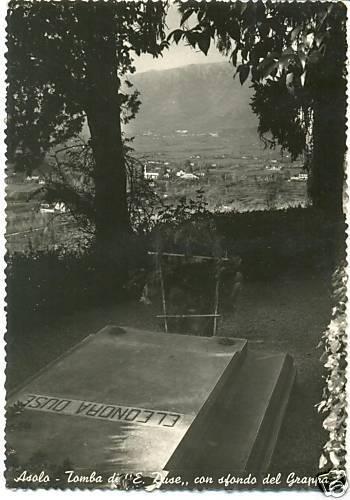 ASOLO - TOMBA DI E. DUSE COL GRAPPA (TREVISO) 1954