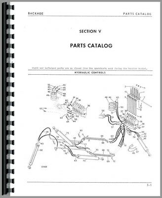 Parts Manual White 2-78-15 4-78-15 2-62-15 Backhoe