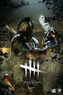 rgc huge poster dead by daylight killer hillbilly ps4 ps3 xbox one ext612 ebay
