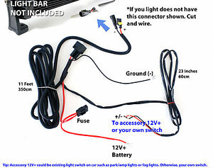 Wiring Diagram For Led Light Bar How To Wire A Light Bar On A Jeep