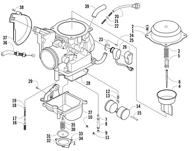 【New Arrival & Free ship From US】 Carburetor for Arctic