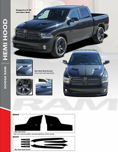 Srt10 Ram Hood : srt10, 2009-2017, Dodge, Stripe