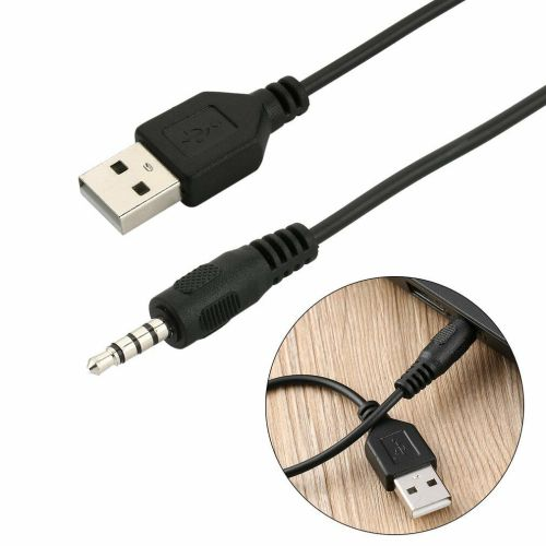 small resolution of 3 5mm male audio aux jack to usb 2 0 type a male otg converter adapter cable tr for sale online