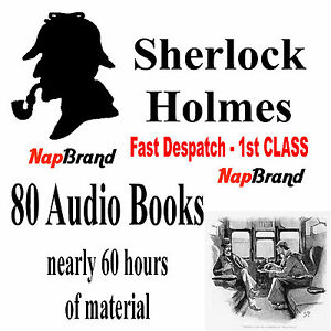 Sherlock Holmes Complete 80 Audiobook Collection MP3