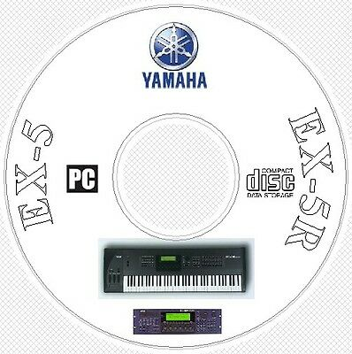 Yamaha EX-5 Sound Library Patches Manual MIDI Software