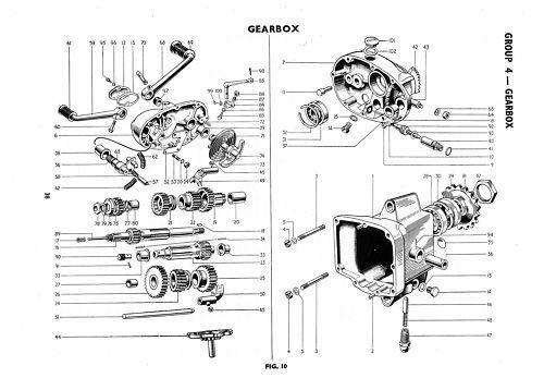 TRIUMPH Parts Manual T100 6T TR6 T110 T120 1959