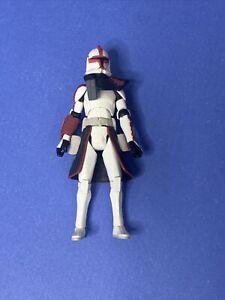 Star Wars Clone Wars ARC Trooper Commander Fordo ARC Troopers Battle Pack Loose   eBay
