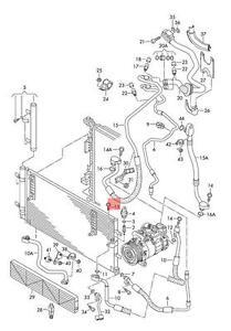Genuine Hexagon socket head bolt combi AUDI VW Audi A4