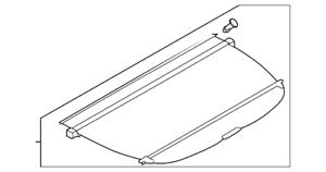 OEM NEW 15-18 Genuine Subaru Forester Manual Rear Gate