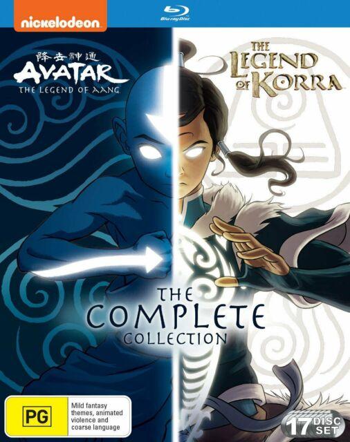 Avatar The Last Airbender Complete Series Blu Ray : avatar, airbender, complete, series, AVATAR, AIRBENDER, LEGEND, KORRA, Complete, Collection, Online