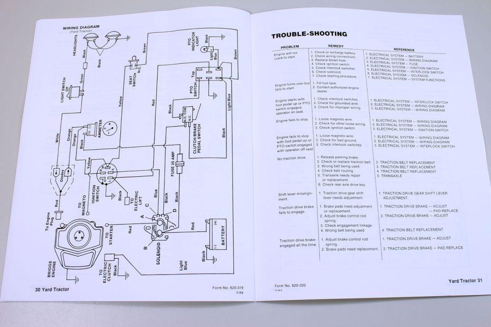 medium resolution of ford 16 hp yard tractor lawn garden service repair shop manual model 09gn 2151 ebay