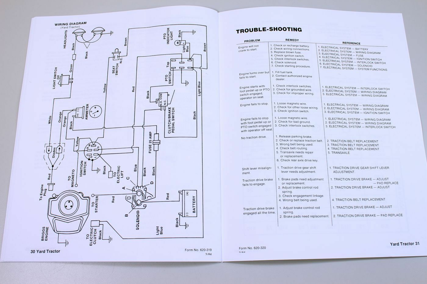 hight resolution of ford 16 hp yard tractor lawn garden service repair shop manual model 09gn 2151 ebay