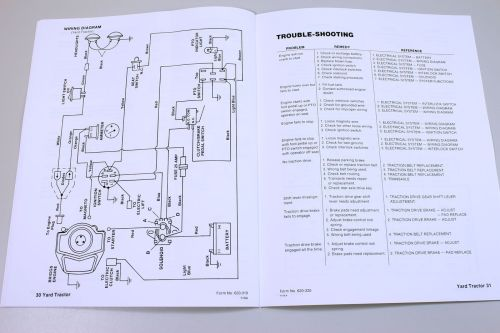small resolution of ford 16 hp yard tractor lawn garden service repair shop manual model 09gn 2151 ebay