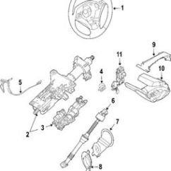 Steering Wheel Diagram How To Read Guitar Chord Diagrams Bmw Oem 06 07 525xi Column 32306788851 Ebay Image Is Loading