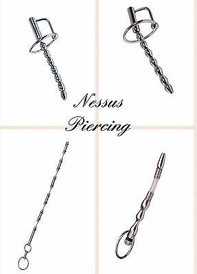 Bead urethral sound gland ring princes wand piercing