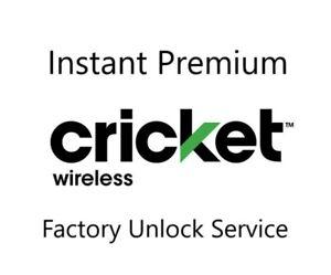 Cricket USA Unlock Code Service, Samsung, LG, Sony, HTC