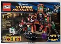 Lego DC Universe Superheroes 6857 The Dynamic Duo Funhouse ...