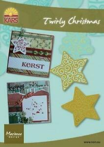 How To Embroider A Star : embroider, Marianne, TWIRLY, CHRISTMAS, EMBOSS, Embroider, METAL, STENCILS, STARS