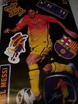 Lionel Messi REAL.BIG. Fathead - Man Cave Giant