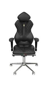 ergonomic chair office purple accent chairs luxury executive home computer italian kulik image is loading