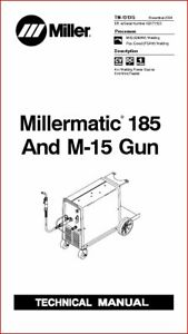 MILLERMATIC 185 & M-15 GUN TECHNICAL MANUAL EFF WITH