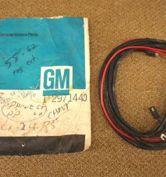 nos gm wire harness starter ignition switch key 2971440 1958 1962 general motors starter wiring [ 1600 x 1063 Pixel ]