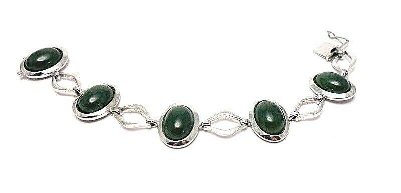 günstig im Angebot 60.massives Jade Armband Vintage