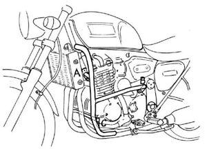 Triumph Thunderbird / Adventurer / Legend TT Engine Guard