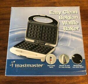 Toastmaster East Clean Belgian Waffle Baker - Model TWB2   eBay