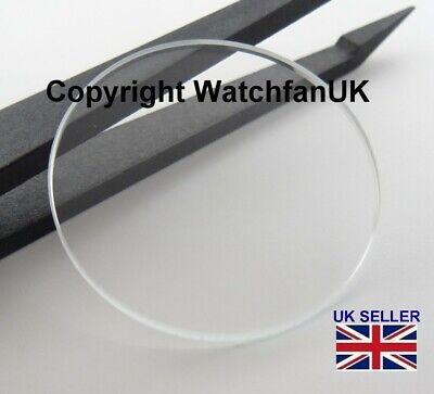 verre mineral de rechange pour montre plat rond epaisseur 2 mm 18 mm a 40 mm ebay