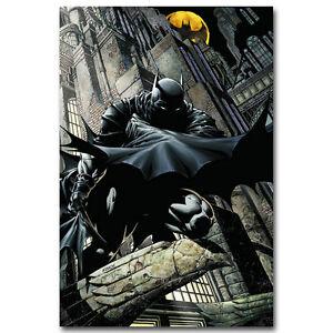 Batman Superheroes Comic Canvas Poster Art Prints 8x12 24x36 inches Room Decor
