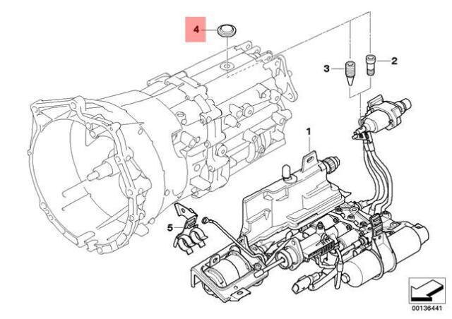 Genuine BMW E32 E34 E36 E38 E39 E46 Manual Trans Cover Lid
