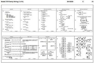 1970  July 1994 Peterbilt 379: 357,375,377,378,379 Wiring Diagram Schematic   eBay