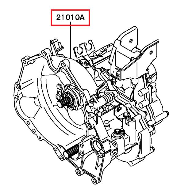 Brand New OEM 1993 Mitsubishi 3000GT VR4 Manual