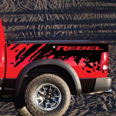 S L on Dodge Ram Decals