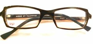 ANNE ET VALENTIN Glasses Frames Two Tone Tortoise Green