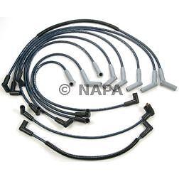 Spark Plug Wire Set NAPA fits 89-96 Ford E-350 Econoline