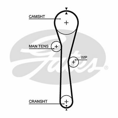Fits Renault Clio Grandtour 1.2 16V Genuine Gates Camshaft