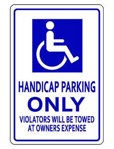 details about handicap parking