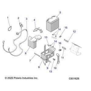 Genuine 3-year warranty Polaris Cable, Black, 940 mm