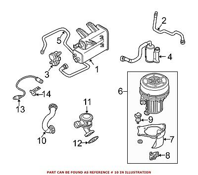 For BMW Genuine Secondary Air Injection Pump Hose