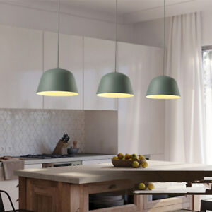 kitchen lamp booths for home green pendant light room chandelier lighting modern image is loading