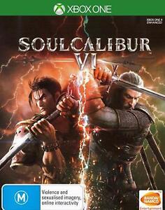 Soulcalibur VI Soul Calibur 6 Action Fighting Game For Microsoft XBOX One XB1 X | eBay